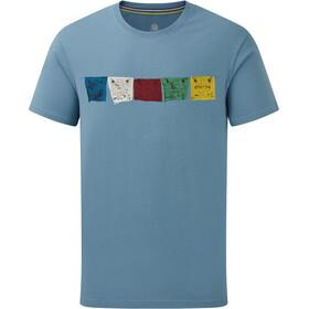 Sherpa Tarcho Camiseta Hombre, slate blue